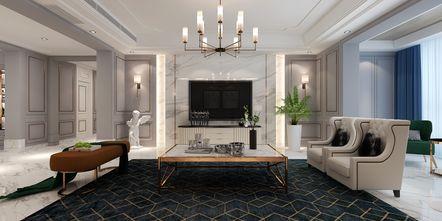 140平米四美式风格客厅欣赏图