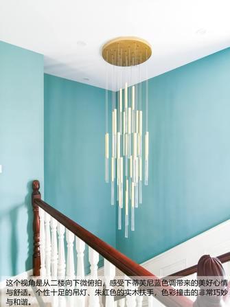 20万以上140平米三室两厅美式风格楼梯间图片