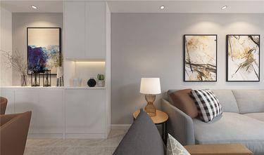 富裕型120平米三室两厅现代简约风格玄关图片大全