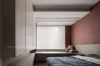 20万以上140平米三室三厅工业风风格卧室设计图
