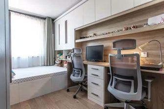 100平米三室一厅北欧风格书房设计图