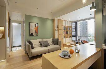 经济型60平米日式风格客厅图片