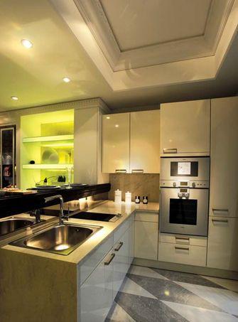 140平米四室一厅港式风格餐厅设计图