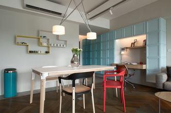 5-10万80平米一室两厅混搭风格餐厅图