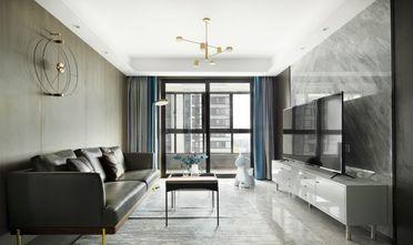 三室一厅美式风格客厅图