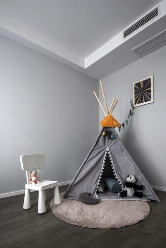 90平米三室两厅现代简约风格青少年房效果图