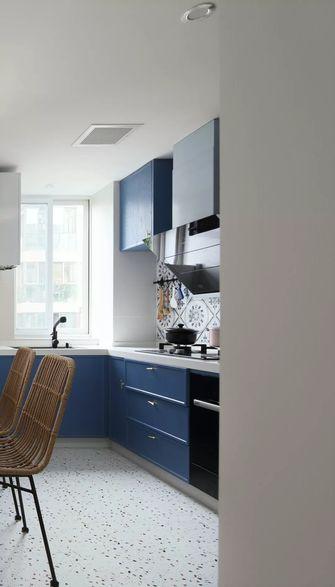 20万以上110平米三室两厅现代简约风格厨房装修效果图