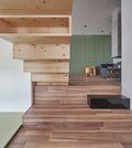 富裕型60平米复式英伦风格楼梯间效果图