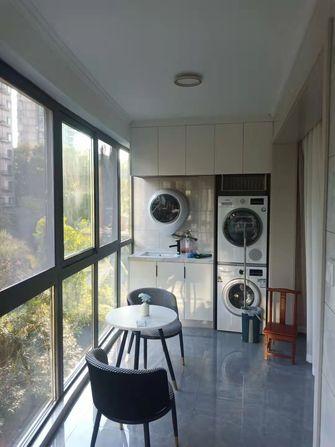 富裕型130平米三室两厅混搭风格阳台装修案例