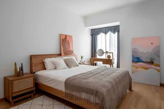 70平米一室一厅现代简约风格卧室图片大全