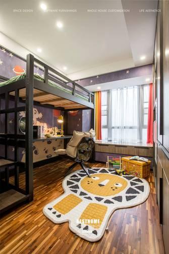 豪华型130平米三室两厅工业风风格青少年房装修效果图