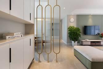 经济型120平米三室两厅现代简约风格玄关装修效果图