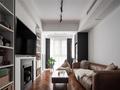 富裕型30平米以下超小户型现代简约风格客厅装修案例