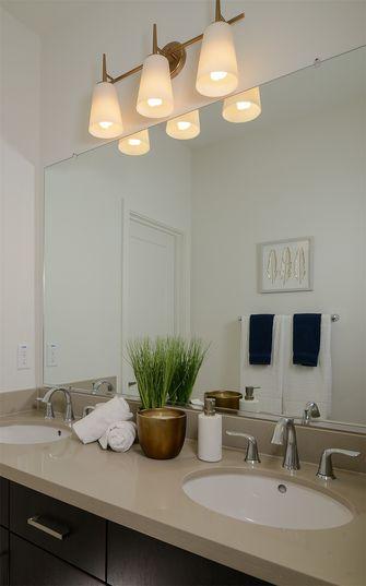 10-15万80平米美式风格卫生间装修效果图