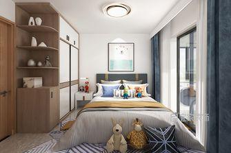 富裕型三现代简约风格卧室图