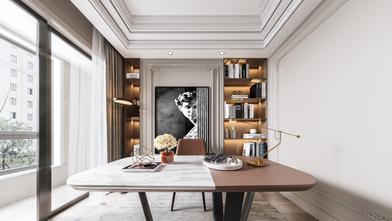 豪华型140平米四法式风格书房图