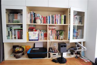 80平米一居室日式风格书房欣赏图