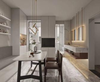 豪华型40平米小户型现代简约风格客厅图