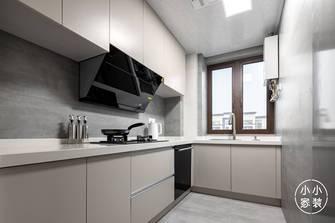 豪华型110平米三室两厅现代简约风格厨房图片大全
