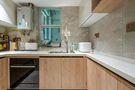 豪华型90平米三室三厅日式风格厨房图片大全
