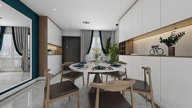 豪华型120平米三室一厅混搭风格餐厅欣赏图