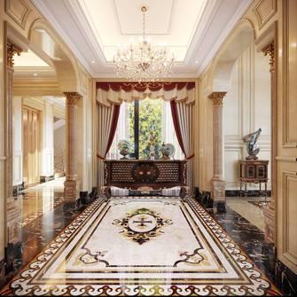 豪华型140平米别墅法式风格玄关装修图片大全