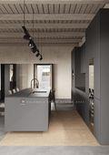 20万以上140平米别墅混搭风格厨房效果图