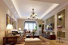 20万以上140平米四美式风格客厅装修案例