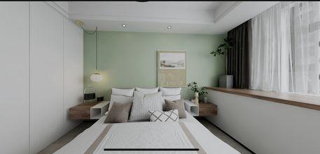 富裕型90平米三室两厅北欧风格卧室设计图