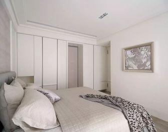 富裕型110平米三室一厅法式风格卧室图