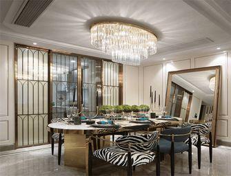 90平米三现代简约风格餐厅图