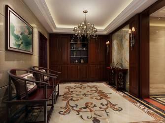 20万以上140平米三室两厅中式风格玄关图片大全