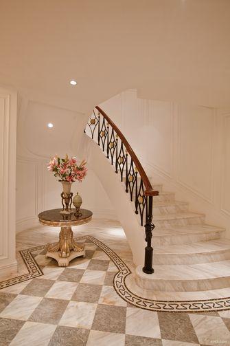 豪华型140平米法式风格楼梯间图片