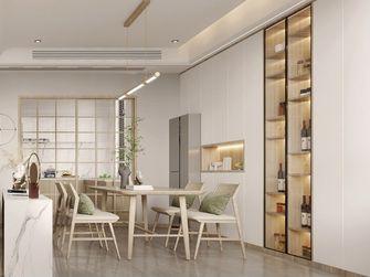 110平米复式日式风格餐厅装修图片大全