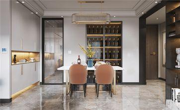 140平米四室两厅港式风格餐厅图片