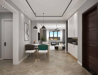 富裕型120平米轻奢风格餐厅装修案例
