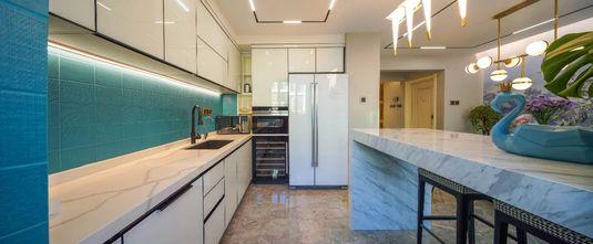 5-10万140平米一室一厅轻奢风格厨房图片