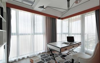 富裕型110平米混搭风格书房设计图