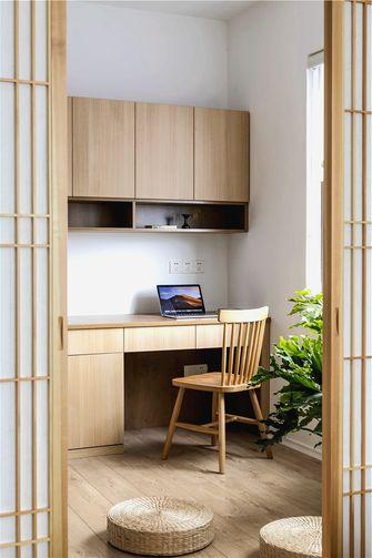 富裕型90平米日式风格书房装修图片大全