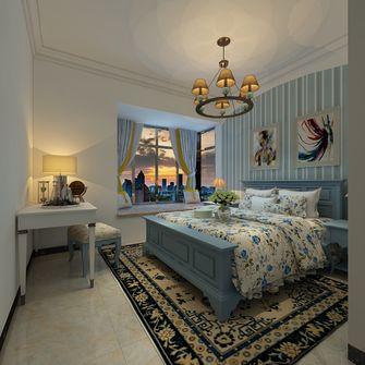 经济型三室两厅地中海风格卧室装修图片大全