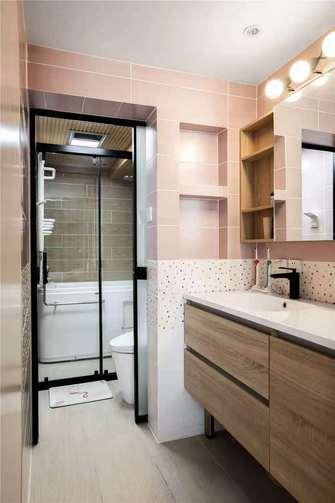 3万以下140平米三室两厅北欧风格卫生间装修案例