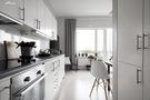 5-10万60平米一室一厅北欧风格厨房欣赏图