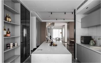 豪华型140平米复式现代简约风格厨房设计图