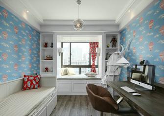 富裕型120平米三室两厅轻奢风格卧室设计图