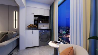 富裕型90平米现代简约风格阳台图片大全