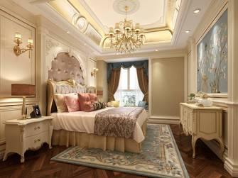 豪华型120平米欧式风格卧室图