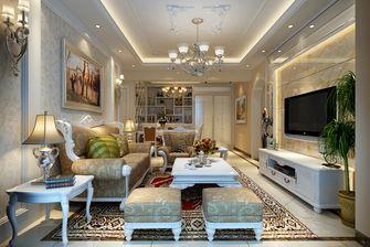 经济型三室三厅欧式风格客厅图片
