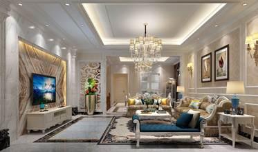 140平米复式混搭风格客厅欣赏图