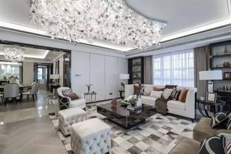 20万以上130平米三室两厅法式风格客厅欣赏图