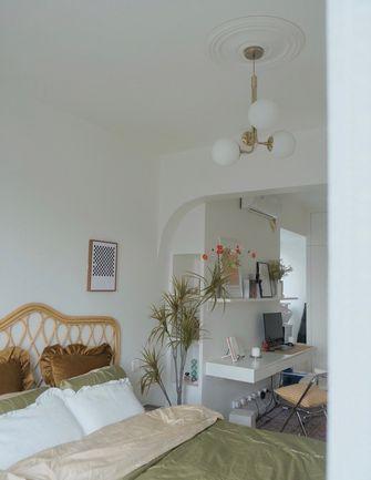 经济型100平米三室两厅法式风格卧室图